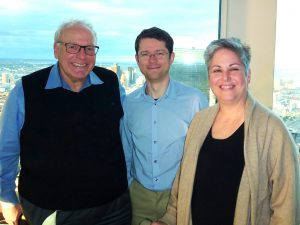 Marc Dewey with Deborah Levine and Herbert Y. Kressel