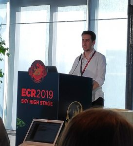 Nader Aldoj - best presenter at ECR 2019