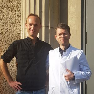 Dr. Steffen Lukas and Prof. Dewey