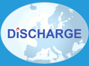 Discharge trial logo