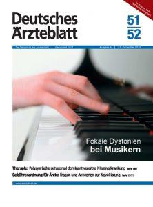 Cover page Deutsches Ärzteblatt