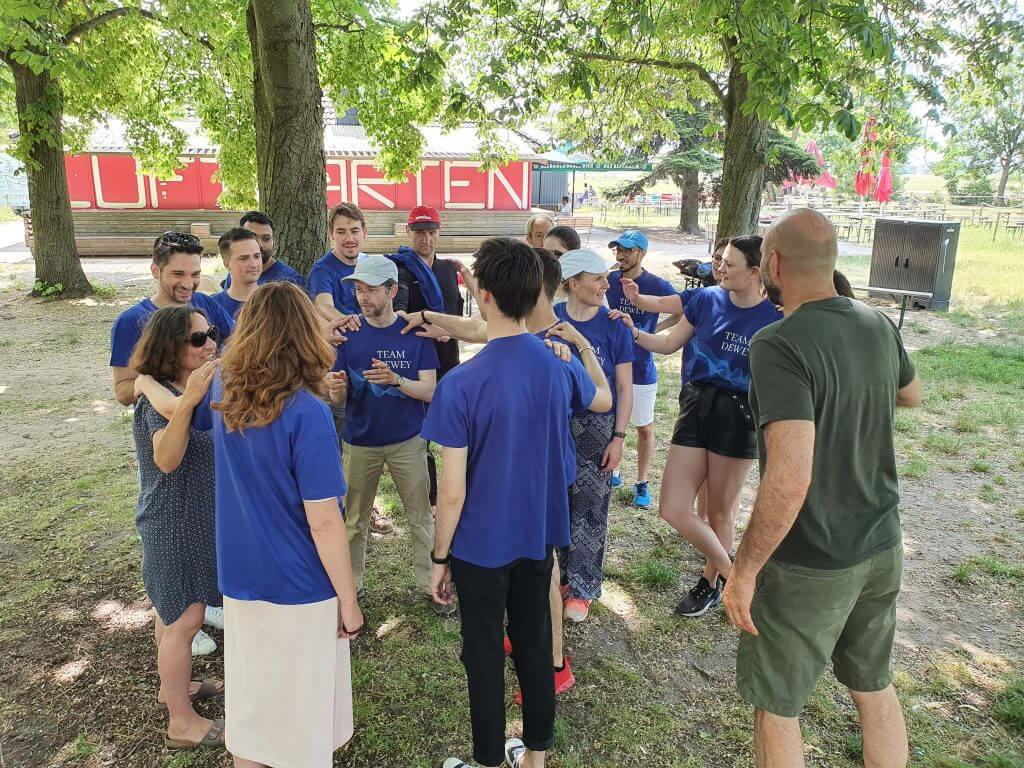 Finally there: all pictures from our perspectives meeting / team building event