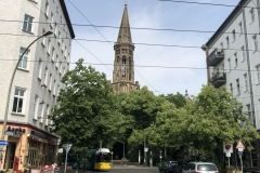 A center for the opposition of former east Germany: the Zionskirche